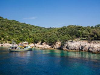Plavnik Island Boat