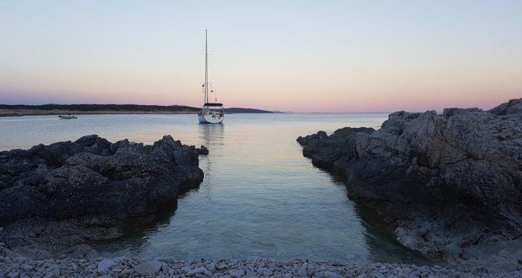 Island North Adriatic Sailing Boat