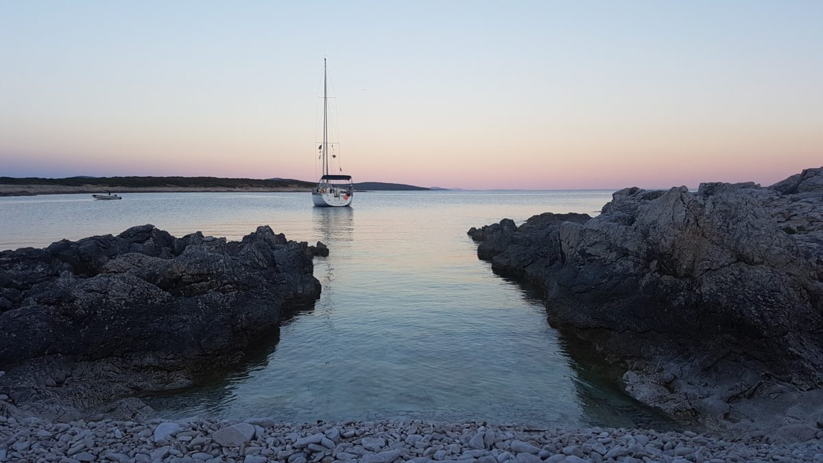 Island North Adriatic Sailing Boat