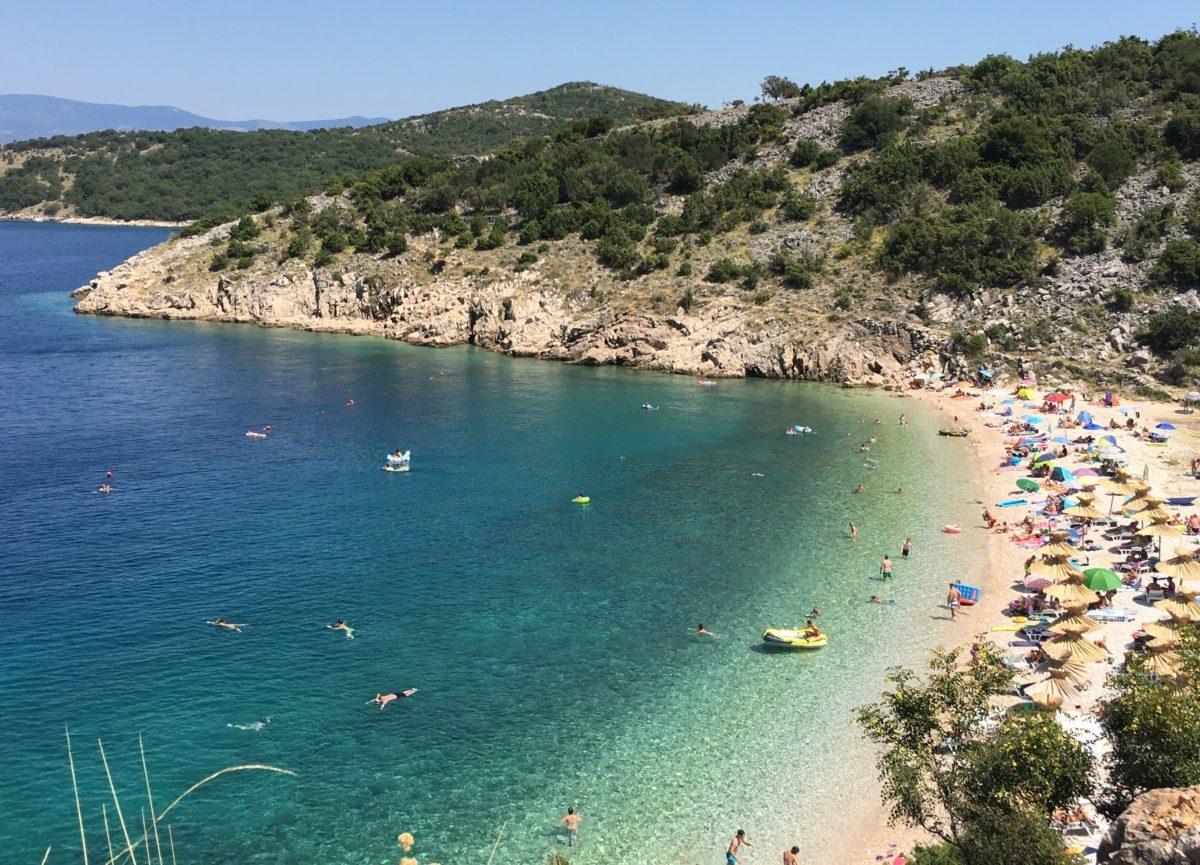 Potovosce_Vrbnik_Beach