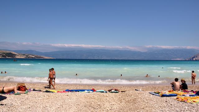 Beach Vela Baška Krk