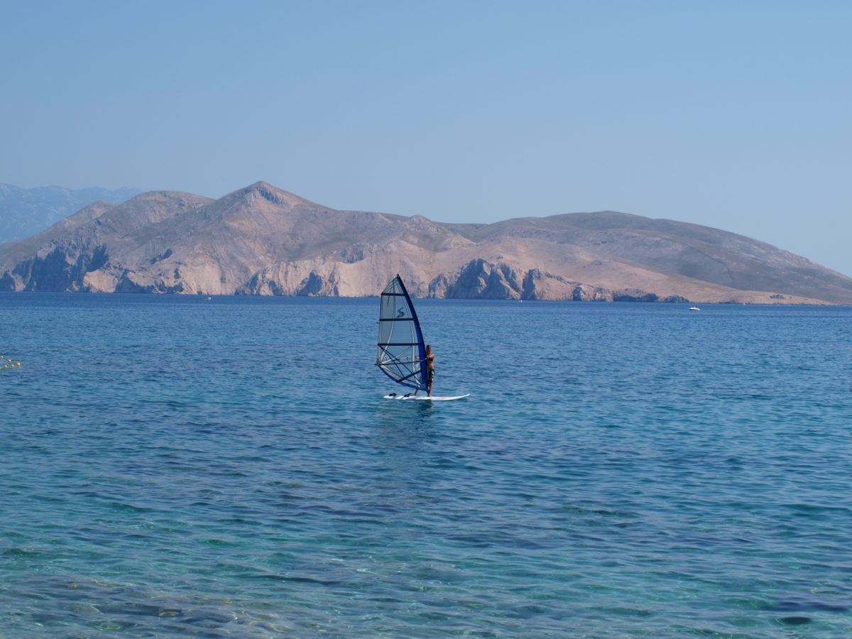 Windsurfing Krk Baska